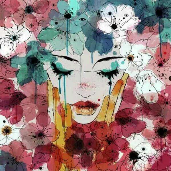 Tårar är inget mer än våra sår som avdunstar
