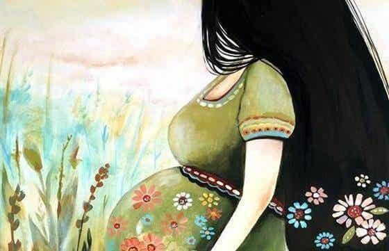 Graviditet: Att älska någon du inte känner än