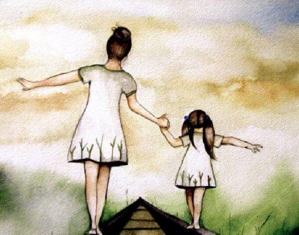 Föräldraskap och kärlek går hand i hand