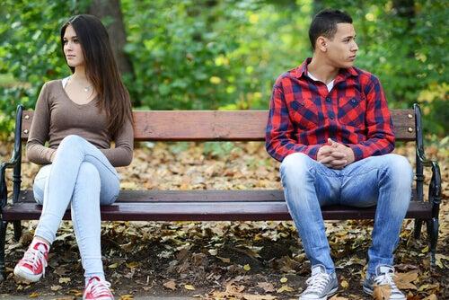 Stora hinder i början av en relation