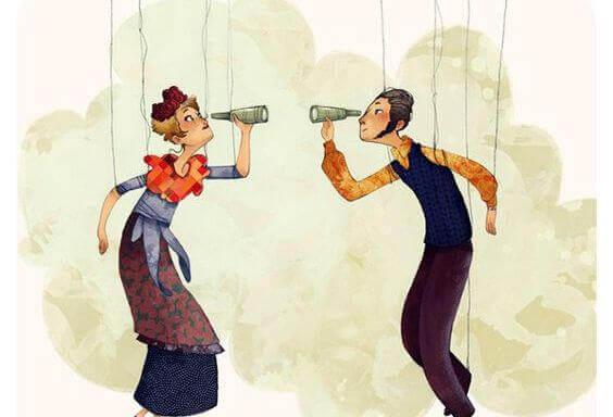 Drickande marionetter