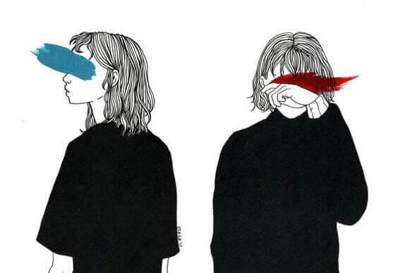 Förbundna ögon