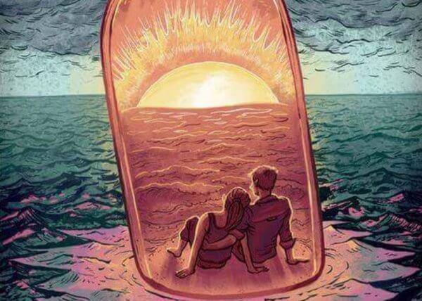 Par i flaska
