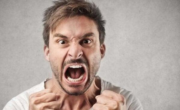 Vi blir arga när vi tappar kontrollen över oss själva