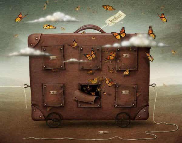 Volymen av ditt bagage motsvarar din tillgivenhet