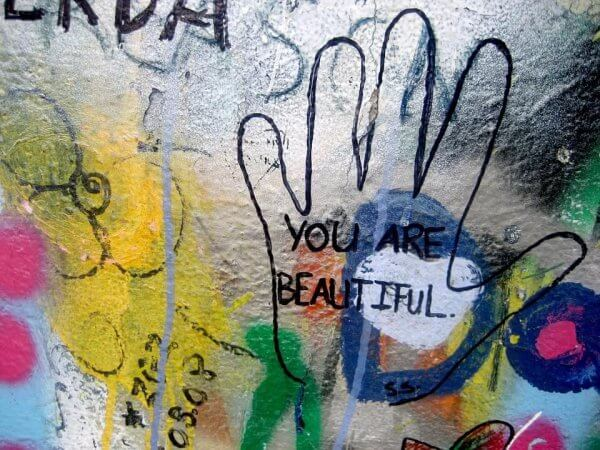 Du är vacker