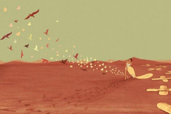 Fjärilar från plåster