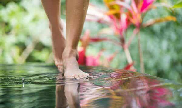 Lär dig att meditera medan du promenerar