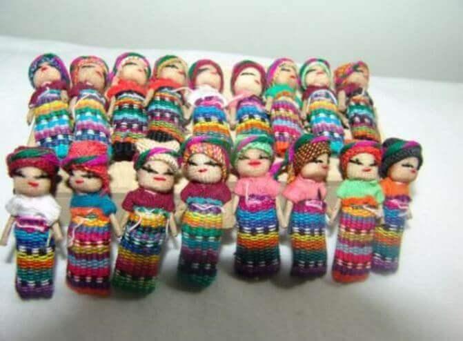 Orosdockor från Guatemala