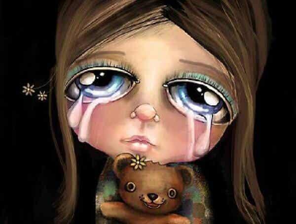 """Säg aldrig """"gråt inte"""" till ett barn"""