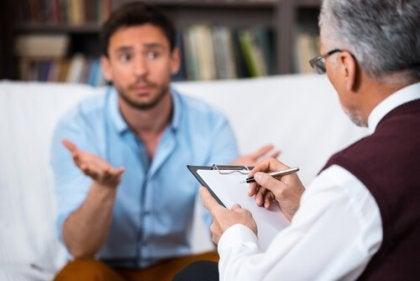 Terapeut och patient