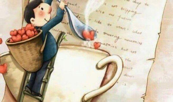 Om de älskar dig kommer de att göra kaffe till dig