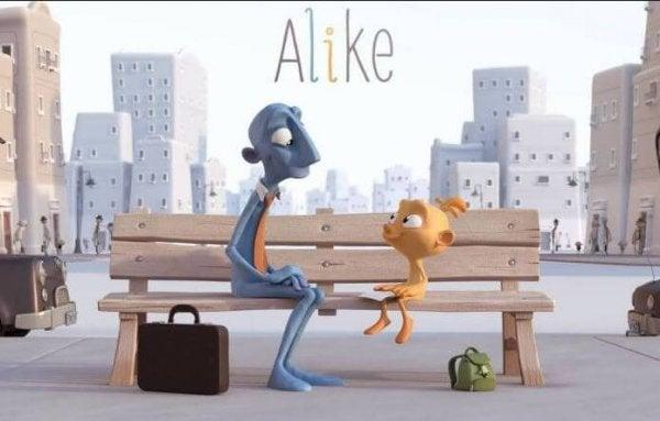 Alike: En kortfilm som reflekterar över hur barns kreativitet försvinner