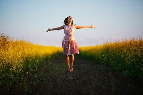 Att vara lycklig är inte att vara bäst