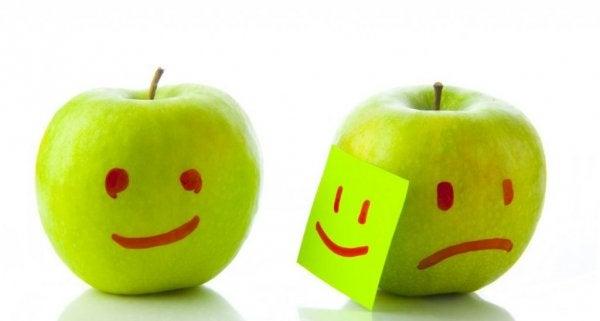 Låtsas vara glad