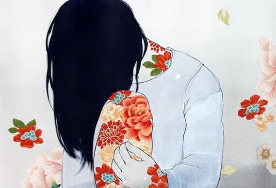 Nedstämd kvinna