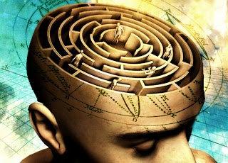 Labyrint i huvud