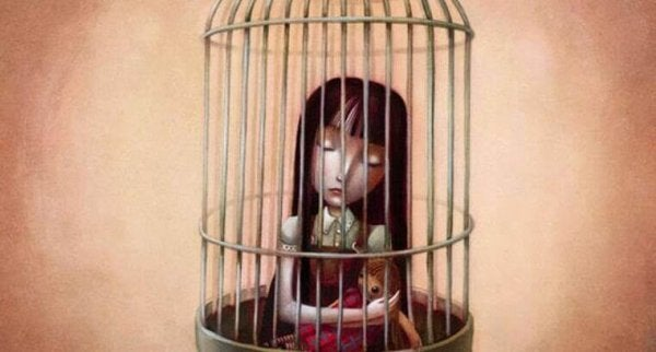 Inspärrad i ett mentalt fängelse