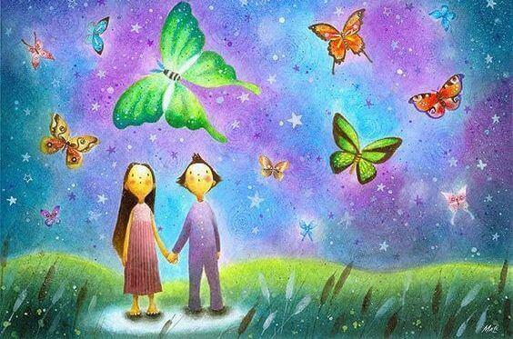 Kläng dig inte fast vid kärlek, hopp eller rädslor
