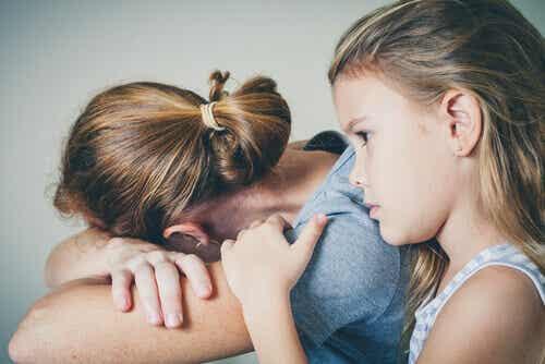 Hur depression påverkar relationer mellan mor och barn