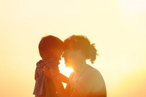 Pojke och mor