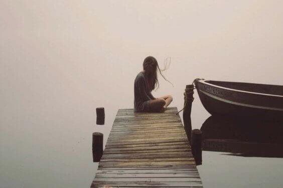 Tystnad vid båt