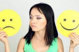 Att göra negativa tankar positiva?