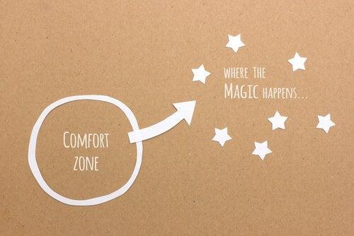 Ut ur komfortzonen