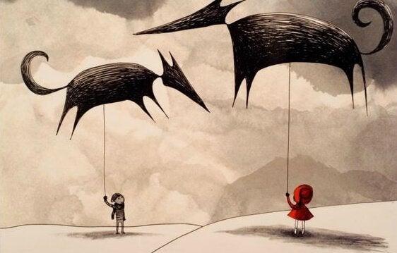 En verklighet mellan saga och liv