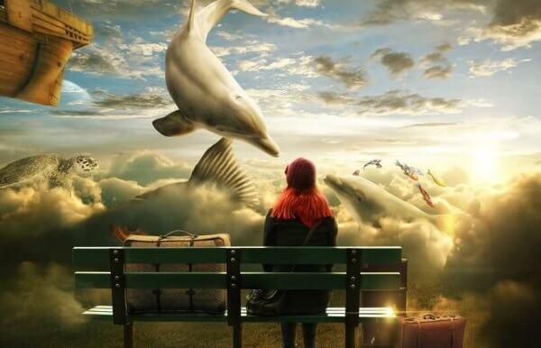 Flygande delfiner
