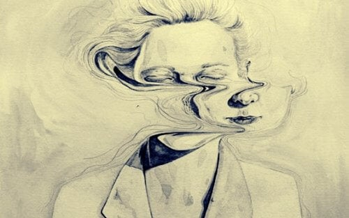 Förvrängt ansikte
