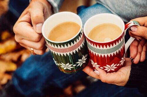 Kaffe med vänner