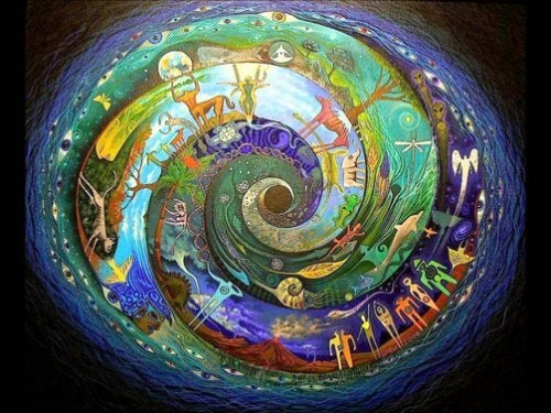 Spiral av figurer