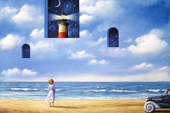Fönster vid himlen