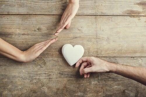 Händer och hjärta