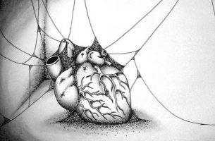 Ett hål där hjärtat borde vara