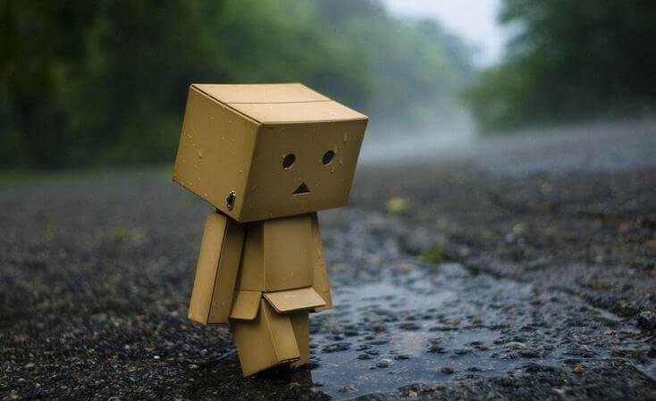 Bara älska mig då jag är ensam och ledsen