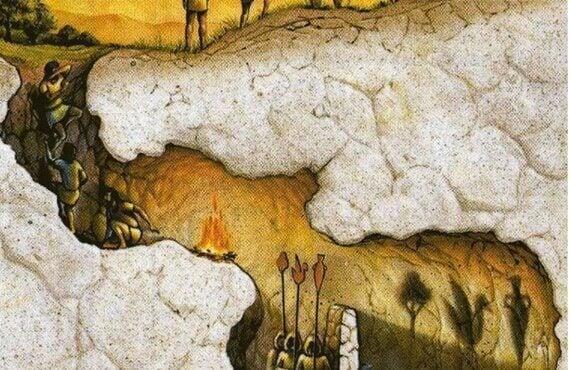 Myten om Platons grotta: Verklighetens dualitet