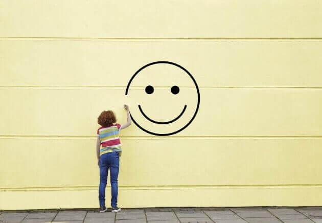 Ritar en smiley