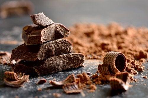 Choklad innehåller tryptofan