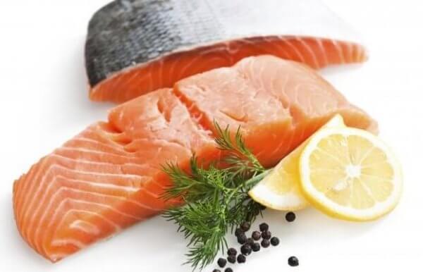 Fet fisk med fettsyror