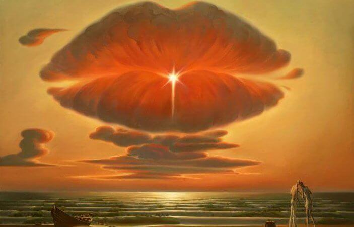 Läppformat moln