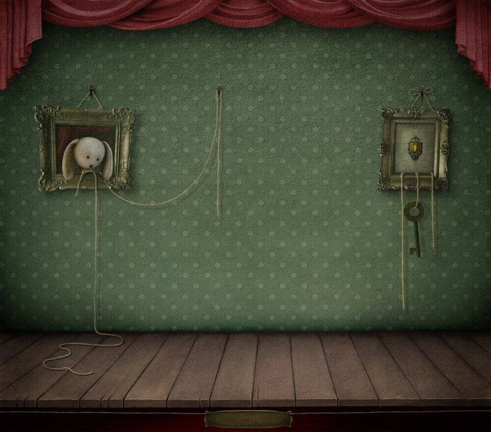 Tavlor på vägg