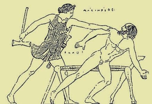 Theseus och Prokrustes