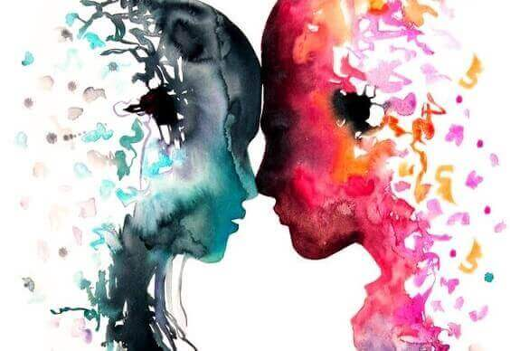 Två själar möts