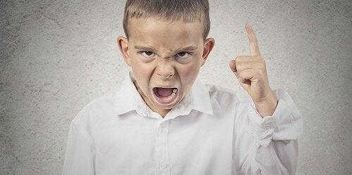 Lillkejsarsyndromet eller barntyrannen