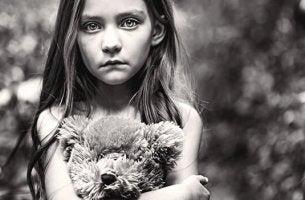 Det glömda barnet under barndomen
