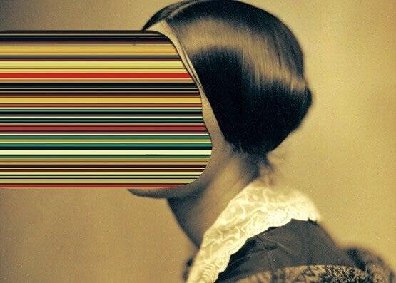 Kvinna abstrakt