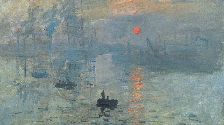 Monet målning