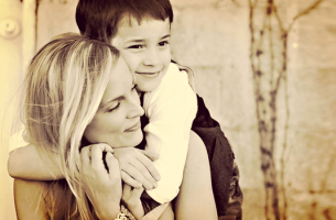 En son som är känslig och omtänksam